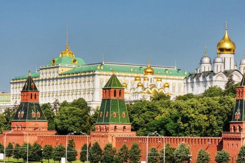 Moscou  Tour du Kremlin, ses cathédrales et de la Place Rouge sans transport