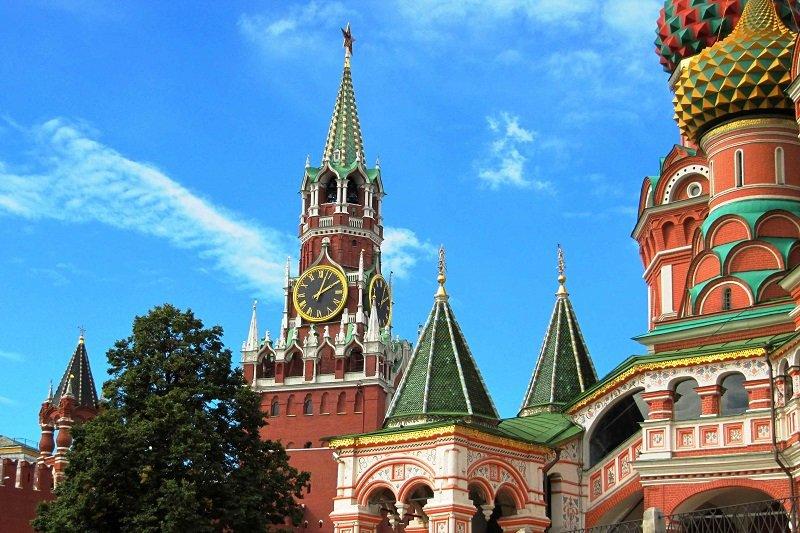 Moscou  Tour du Kremlin, ses cathédrales, de la Place Rouge et du Musée de l�Armurerie sans transport