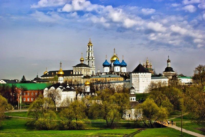Moscou  Tour de Serguiev Posad avec transport
