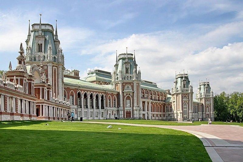 Moscou  Tour de Tsaritsyno avec transport