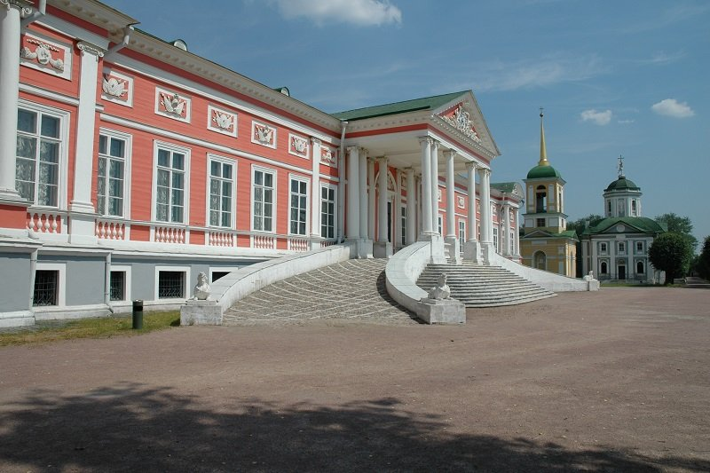 Moscou  Tour de Kouskovo avec transport
