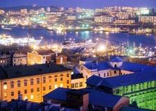 Vladivostok  Crucero por la Bahía del Cuerno Dorado en barco público (con traslados y guía)