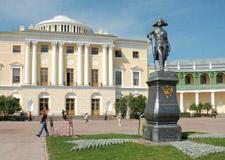 Saint Pétersbourg  Tour de Pavlovsk, le palais du tsar Paul