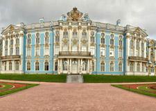 Saint Pétersbourg  Tour de Pouchkine, résidence du dernier tsar