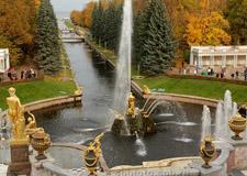 Saint Pétersbourg  Tour de Peterhof (Petrodvorets)