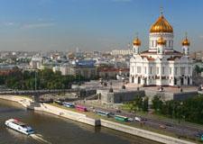 Moscú  Tour de la ciudad con transporte
