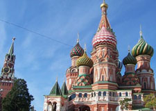 Moscow  Kremlin, Red Square and Cathedrals walking