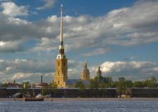 St. Petersburg  City tour w/transport incl. Peter & Paul Fortress