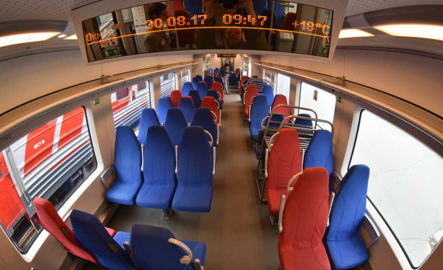 From St. Petersburg to the Mountain Park Ruskeala with the New Speed Train