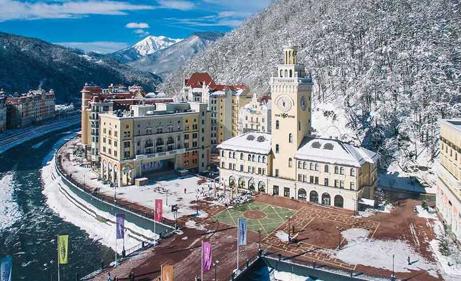 """The Ski Arrow"" train to connect Rostov-on-Don and the Ski Resort ""Rosa Khutor"""
