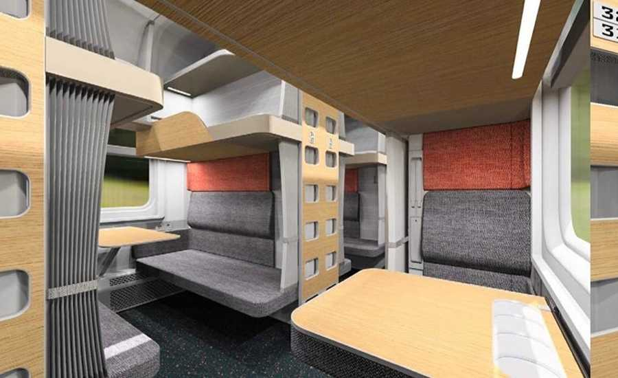 Russian Railways is working on redesign of the interiors of the passenger trains