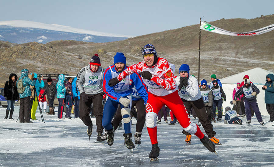The Baikal Ice Skating Marathon to start off in March