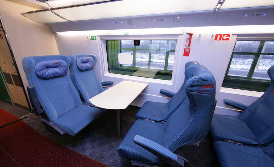 Getting from Moscow to St. Petersburg by Train