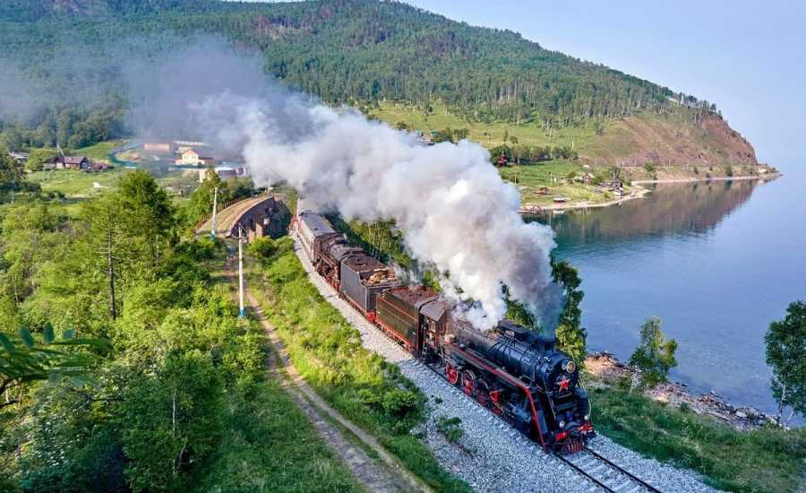 New Tourist Train on Trans-Siberian Railway