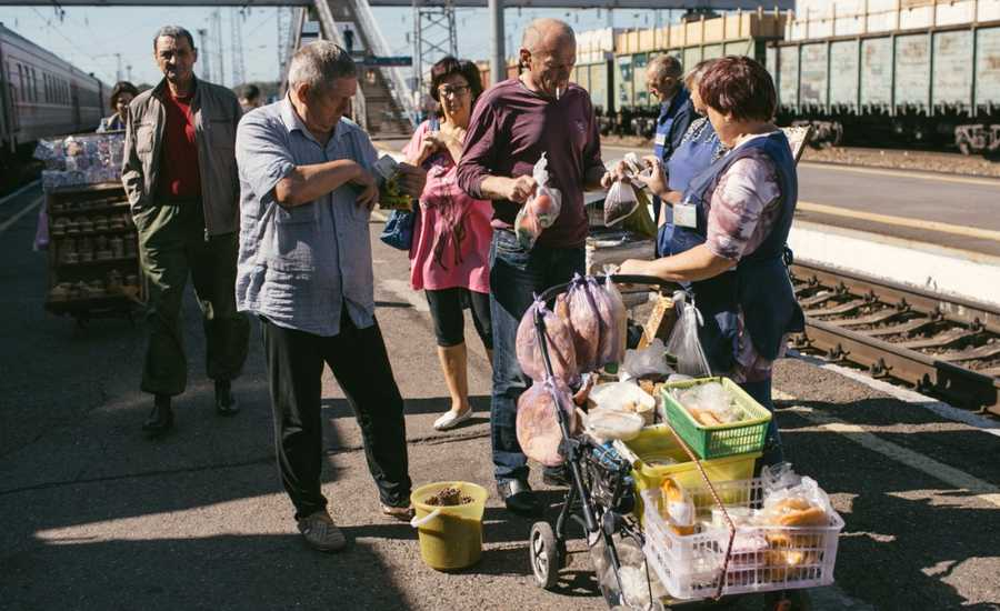 Trans Siberian Food Adventures