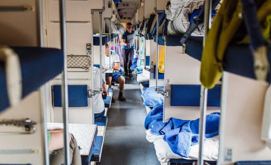 Moscow to St. Petersburg day train Sapsan