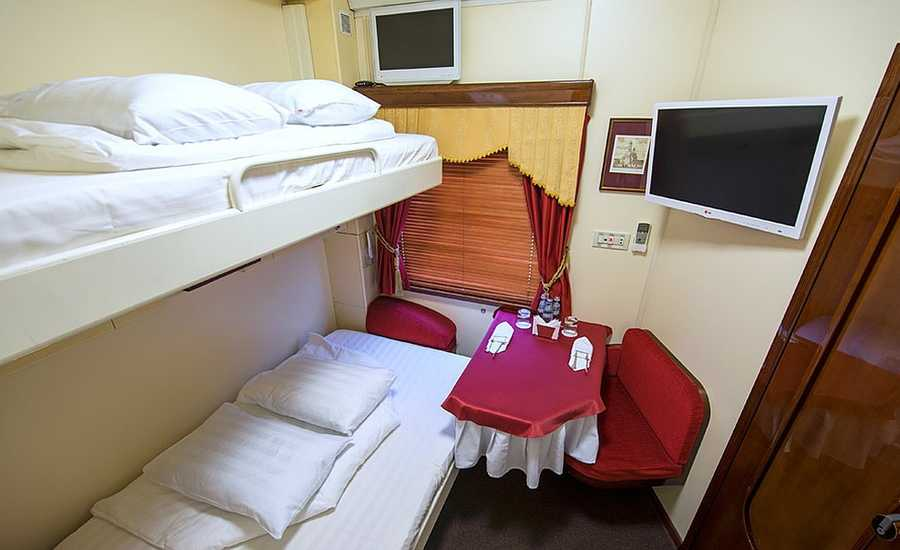 Moscow to St. Petersburg train Grand Express