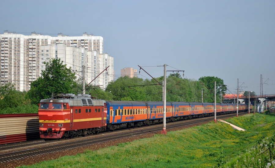 Express trains in Russia