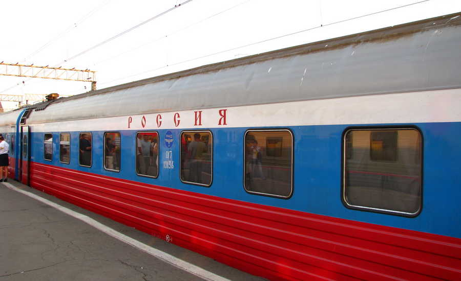 Most Popular Trains in Russia - Rossiya