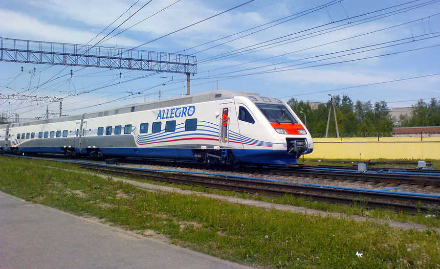 Most Popular Trains in Russia - Allegro