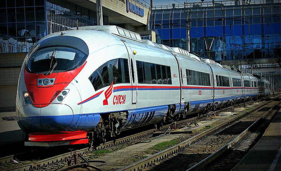 Most Popular Trains in Russia - Sapsan