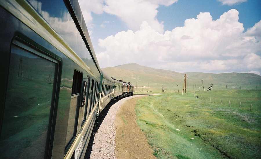 Train experience - landscape