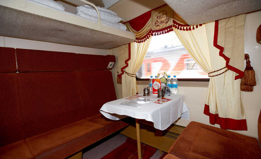 Second Class on the Red Arrow Train