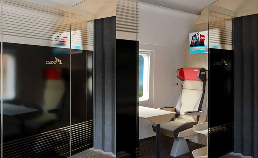 New Sapsan train class Suite Cabin