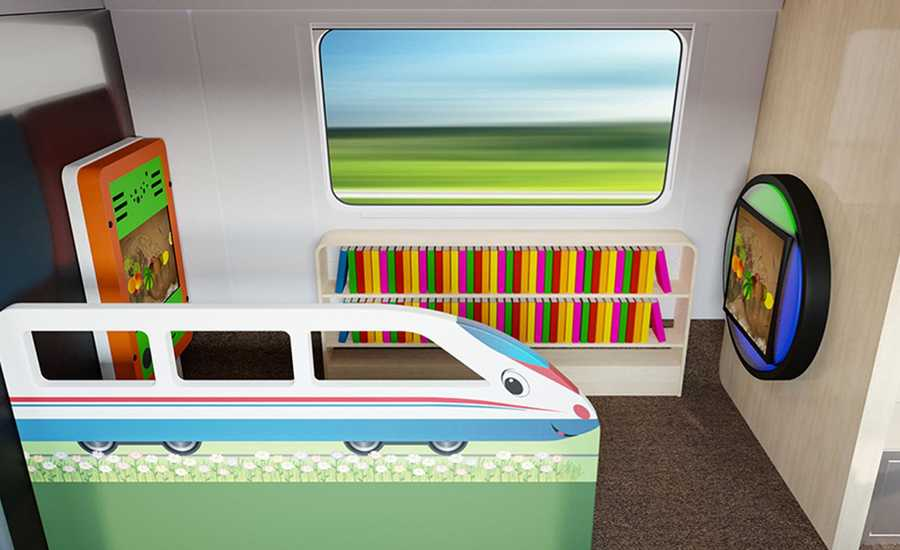 New Sapsan train class - Family Class
