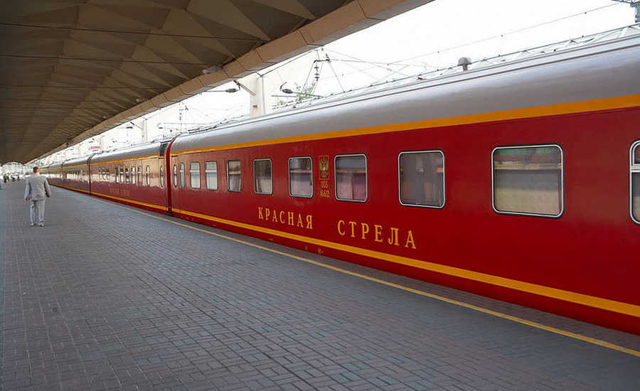 Most Popular Trains in Russia - Red Arrow