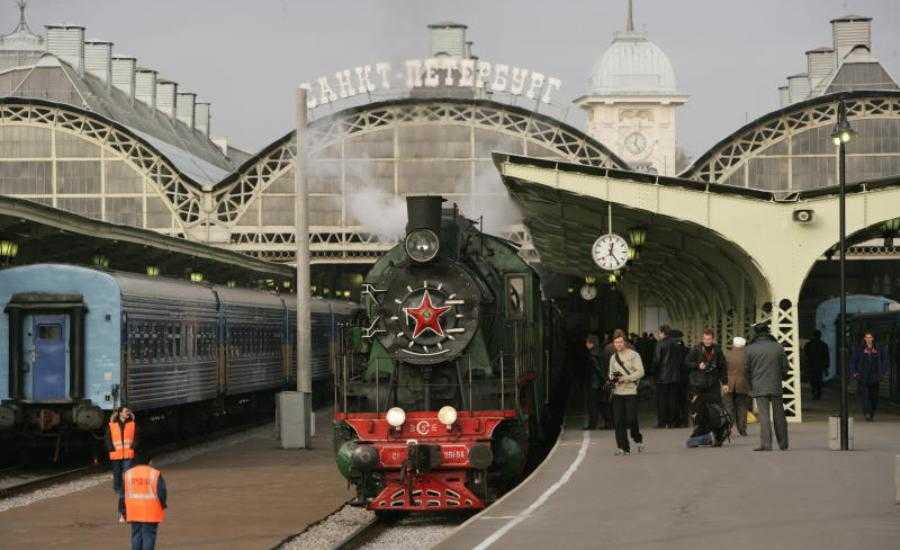 The First Russian Railway - Steam train