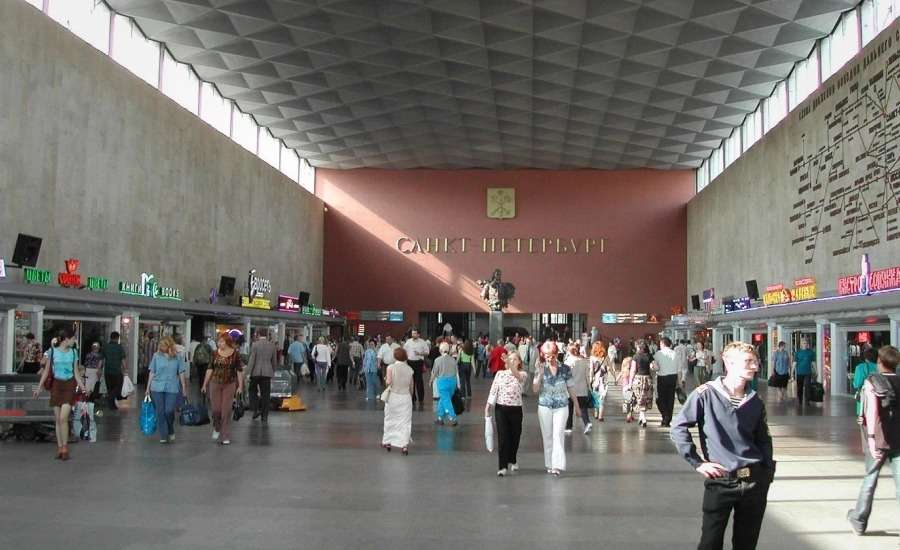 My Experience Travelling Kupe from St Petersburg to Moscow - Station