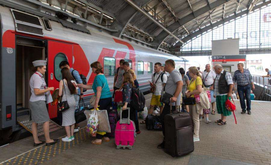 My Experience Travelling Kupe from St Petersburg to Moscow - Conductor