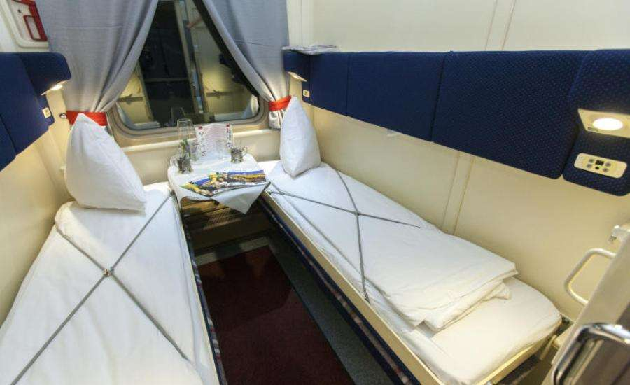 First Class Travel on Russian Trains - Beds