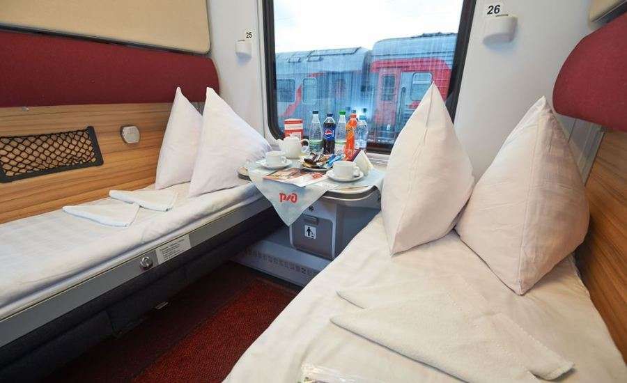 First Class Travel on Russian Trains