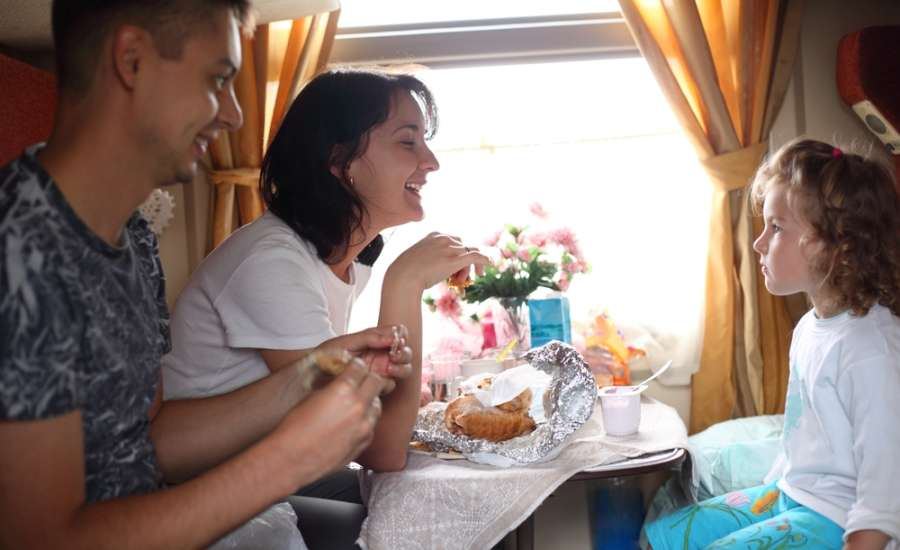 Why do Russians Travel by Train So Much? - Family