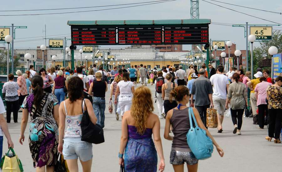 Why do Russians Travel by Train So Much?