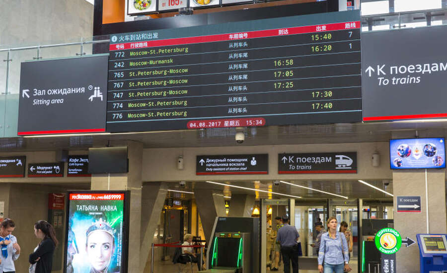 My Experience Travelling Kupe from St Petersburg to Moscow - security