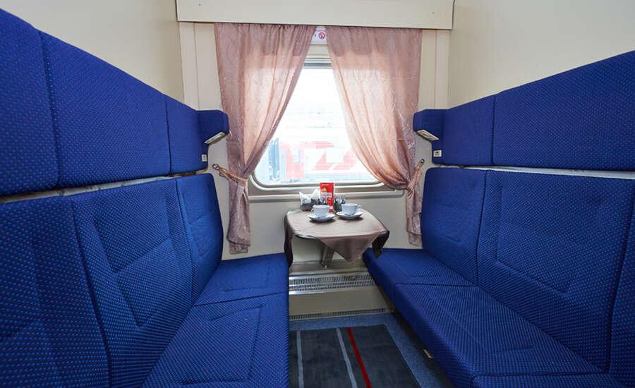 Rossiya Train Classes Comparison - SV