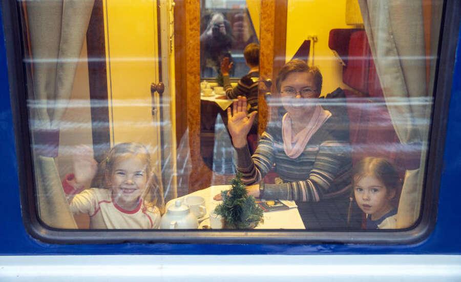 Russian Train Journey, Russian hospitality