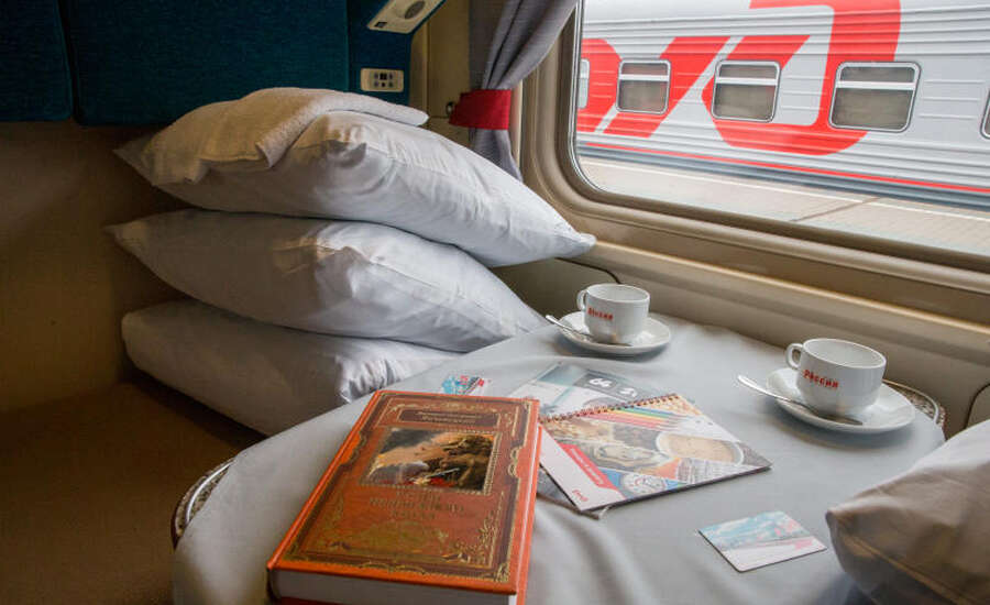 Russian Train Journey, Adventure begins