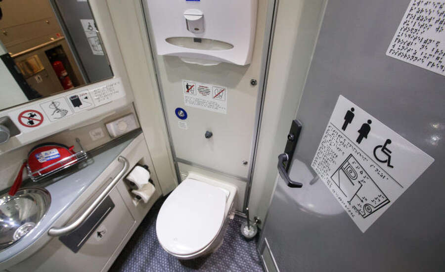 Useful tips for travelling on the Trans-Siberian - WC