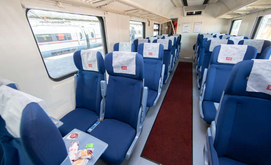 Types of trains - Seats
