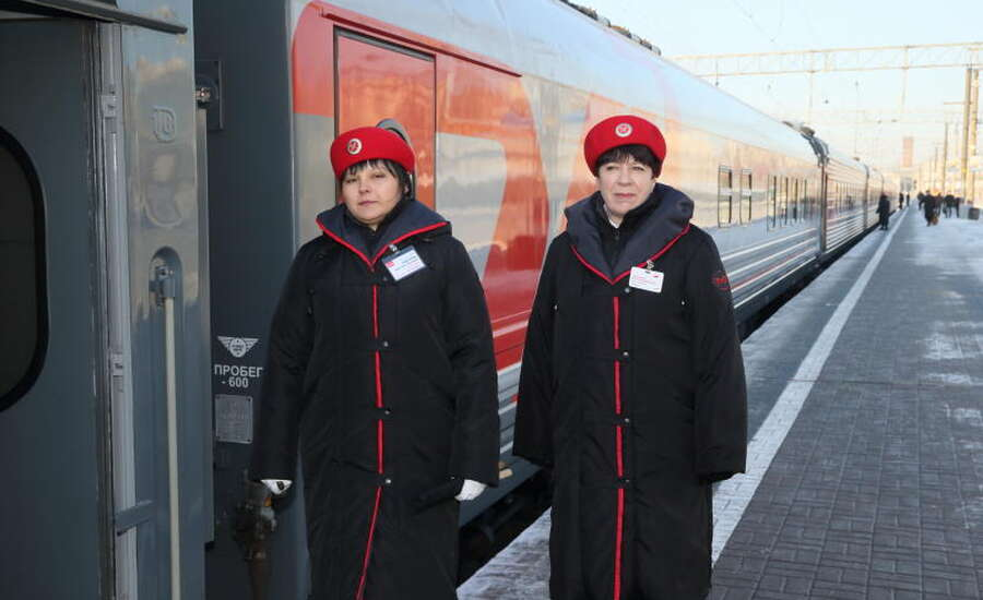Russian Train Experience - Train Staff
