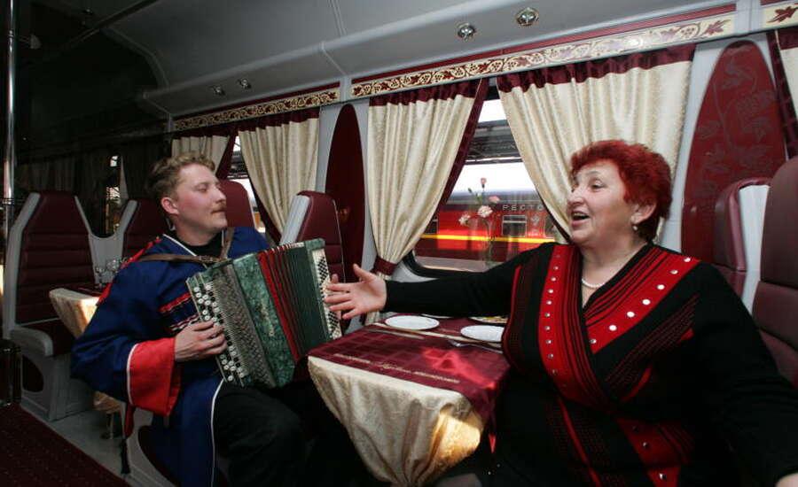 Russian train experience - Fun