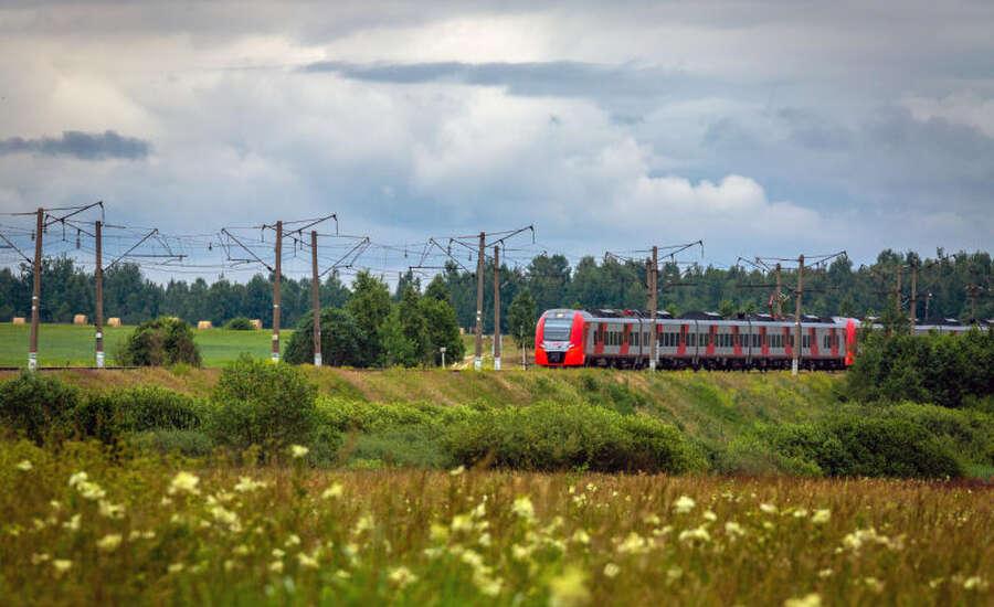 Russian train experiance - Landscape