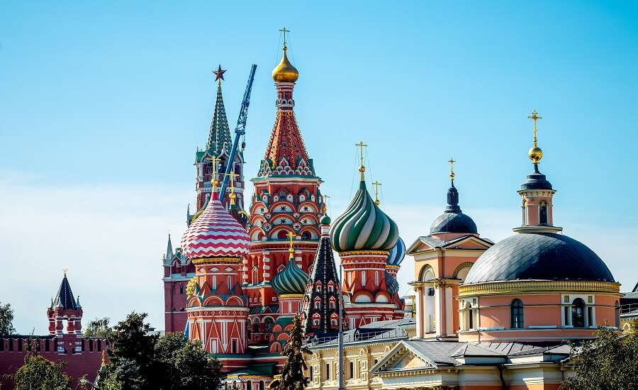 the Trans-Siberian Railway, Moscow