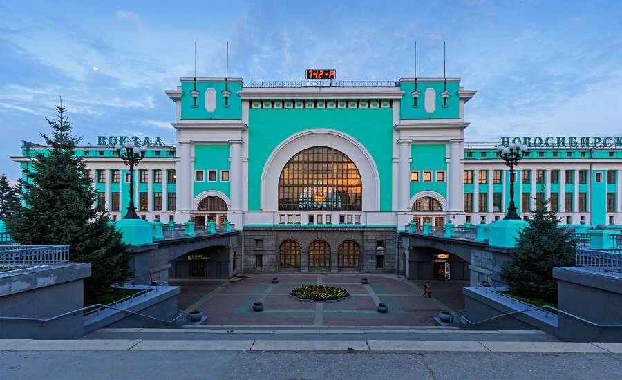 the Trans-Siberian Railway, Novosib