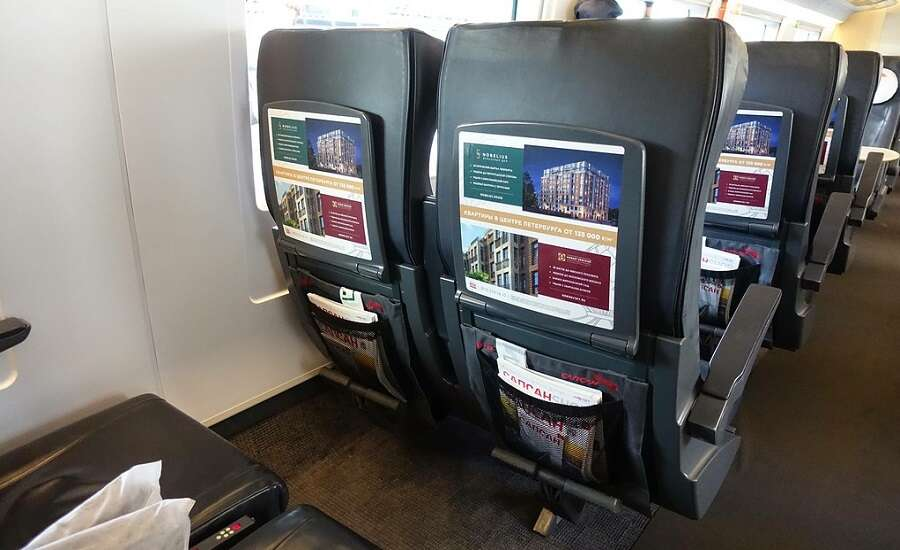The Sapsan For Business Travelers - business class