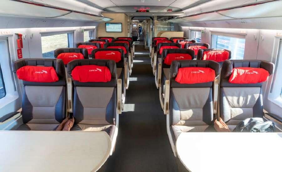 New Sapsan train class - Comfort Class